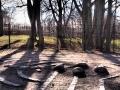 Heidnische Überbleibsel? Ein mystischer Steinkreis im Park hinter Linköpings Dom