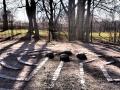 Im Park hinter Linköpings Dom