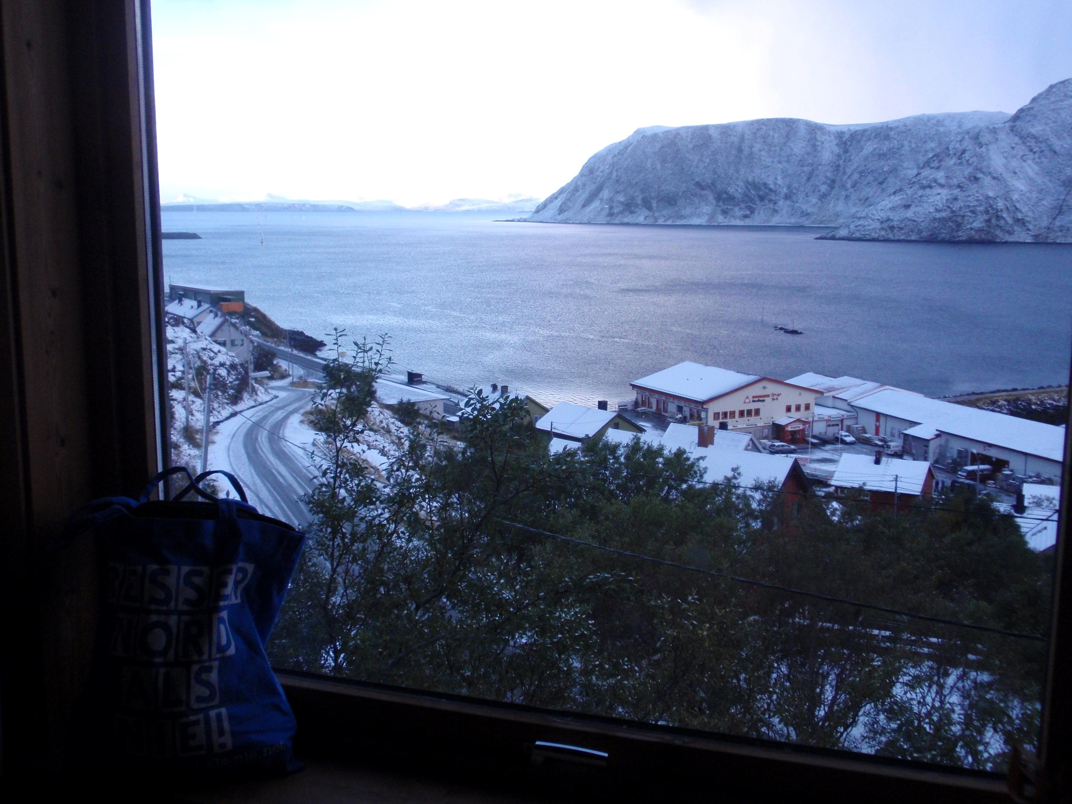 Blick über Honningsvåg
