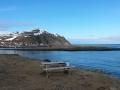 In Nordvågen auf der Magerøya fängt der Frühling gerade erst an.