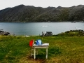 Falkbergbukta auf der norwegischen Insel Magerøya