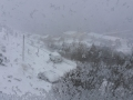 09.03. - Schneesturm
