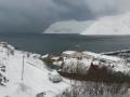 09.03. - nach dem Schneesturm