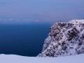 Die steilen Felswände, auf denen der eiserne Globus thront, ragen 307m über den Meeresspiegel hinaus.