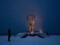 Der Globus übt eine starke Symbolkraft aus und ist sicher das meistfotografierte Motiv nördlich des Polarkreises.