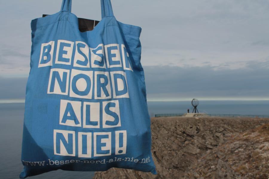Bild der Woche Tasche Nordkap