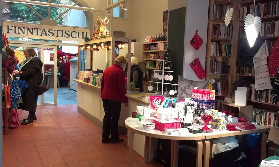 Finnischer Weihnachtsmarkt