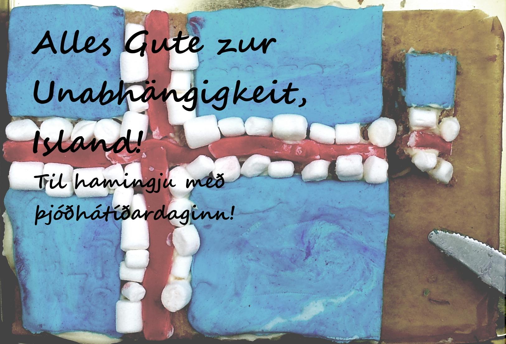 Islandkuchen-Geburtatag