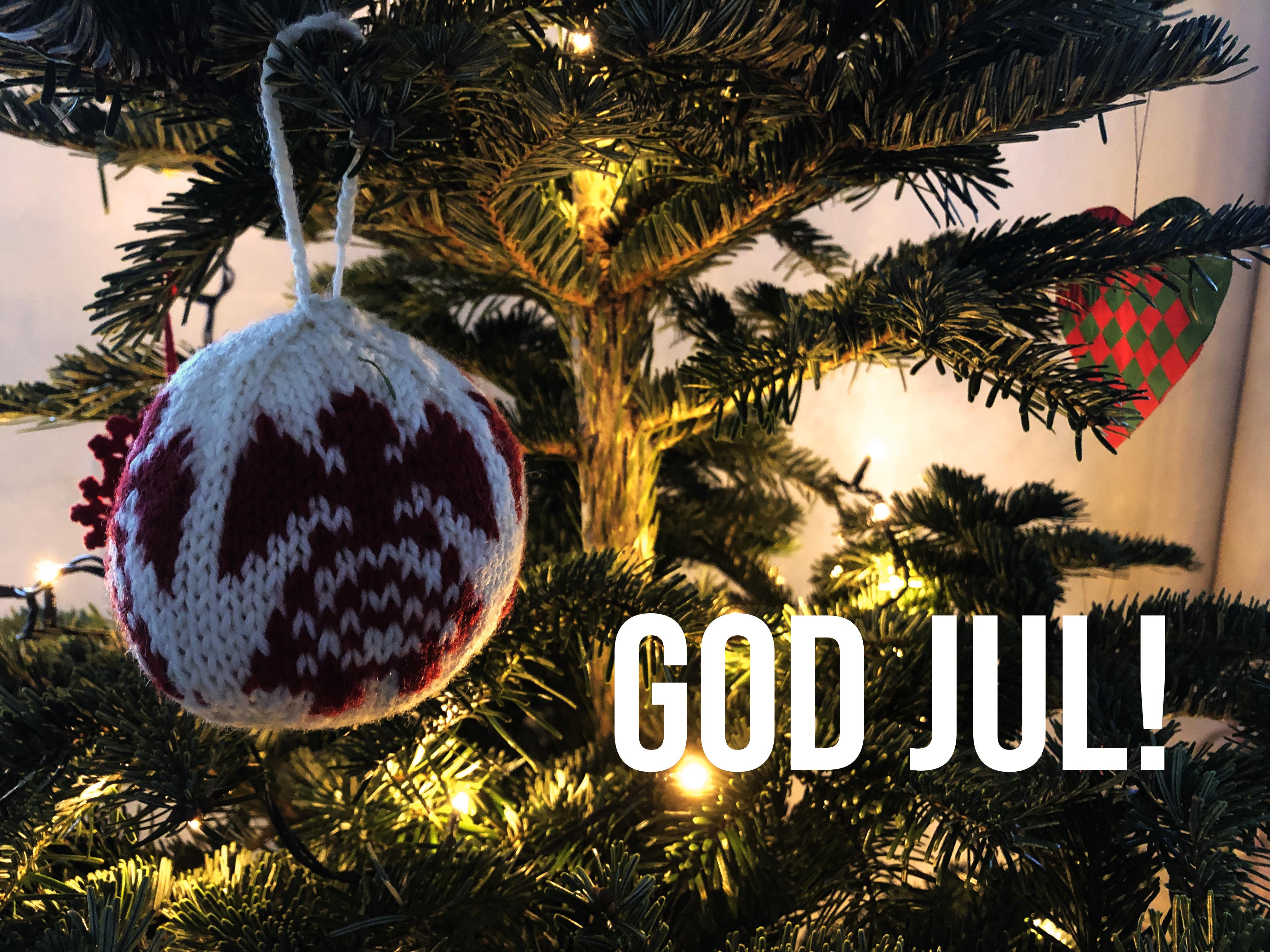 God Jul. Foto: Besser Nord als nie!