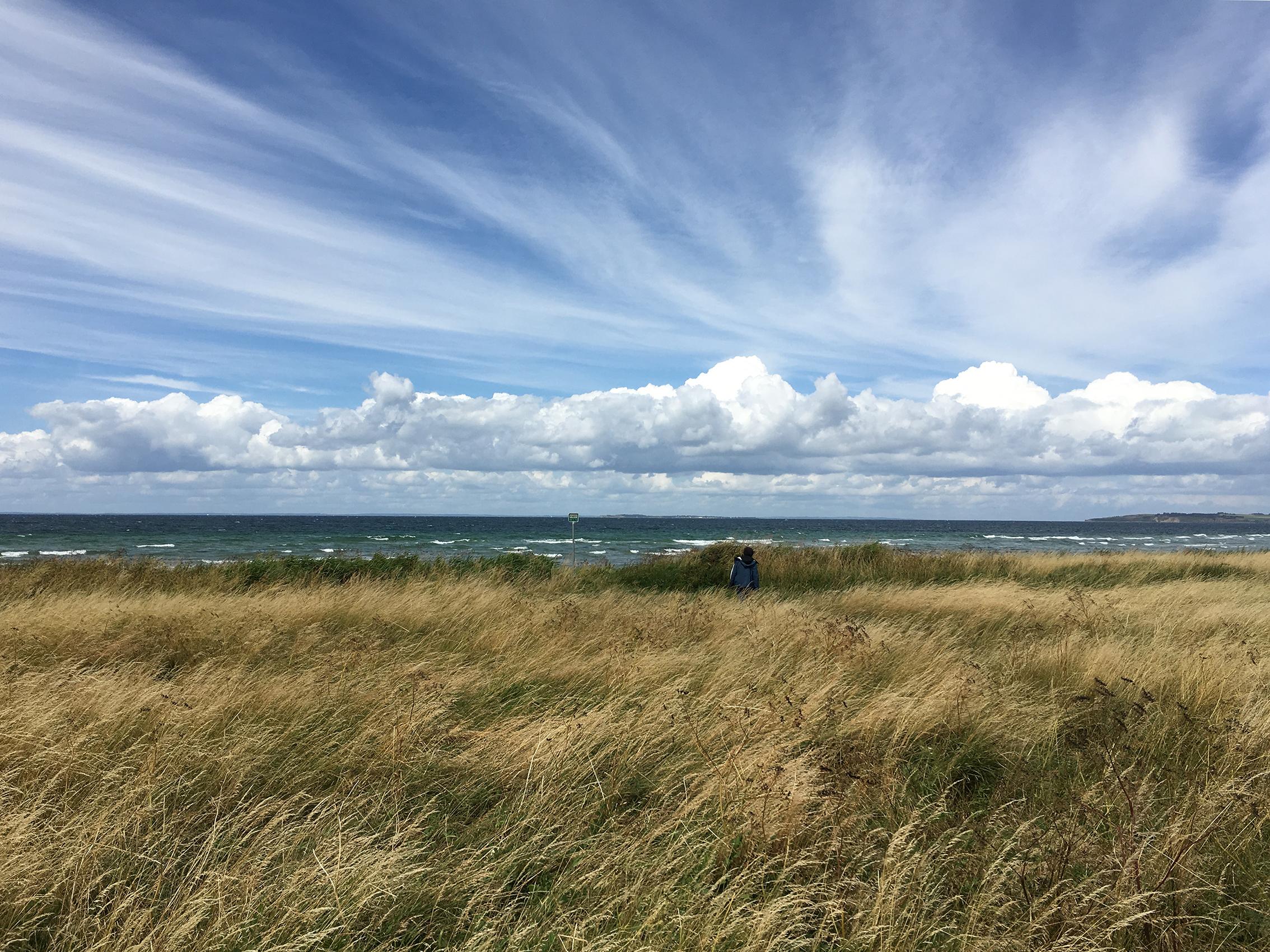 An der Westküste von Samsø