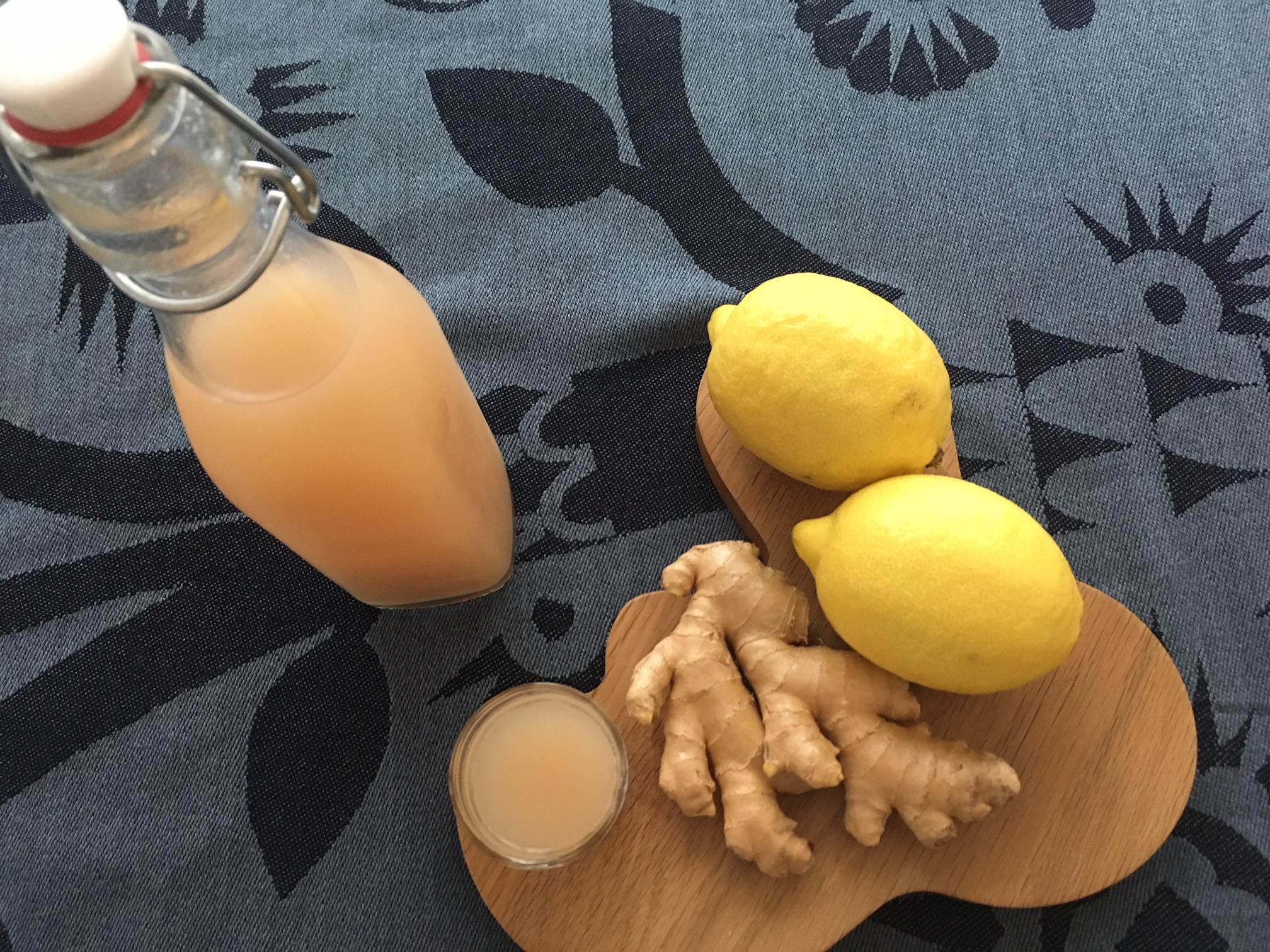Rezept: Gesunde Ingwer-Shots für den Winter aus Schweden