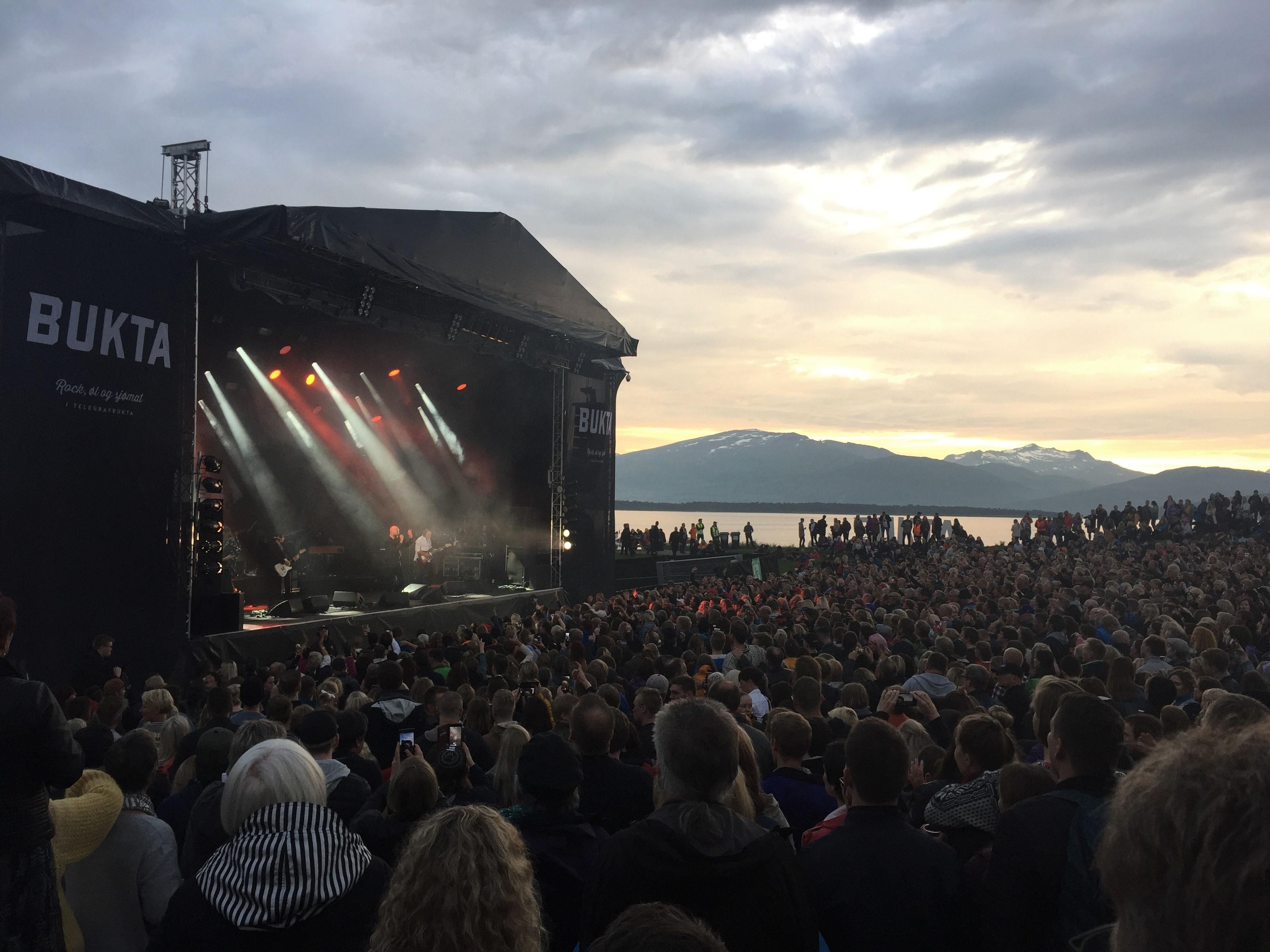 Konzert von Sivert Høyem auf dem Hauptstage