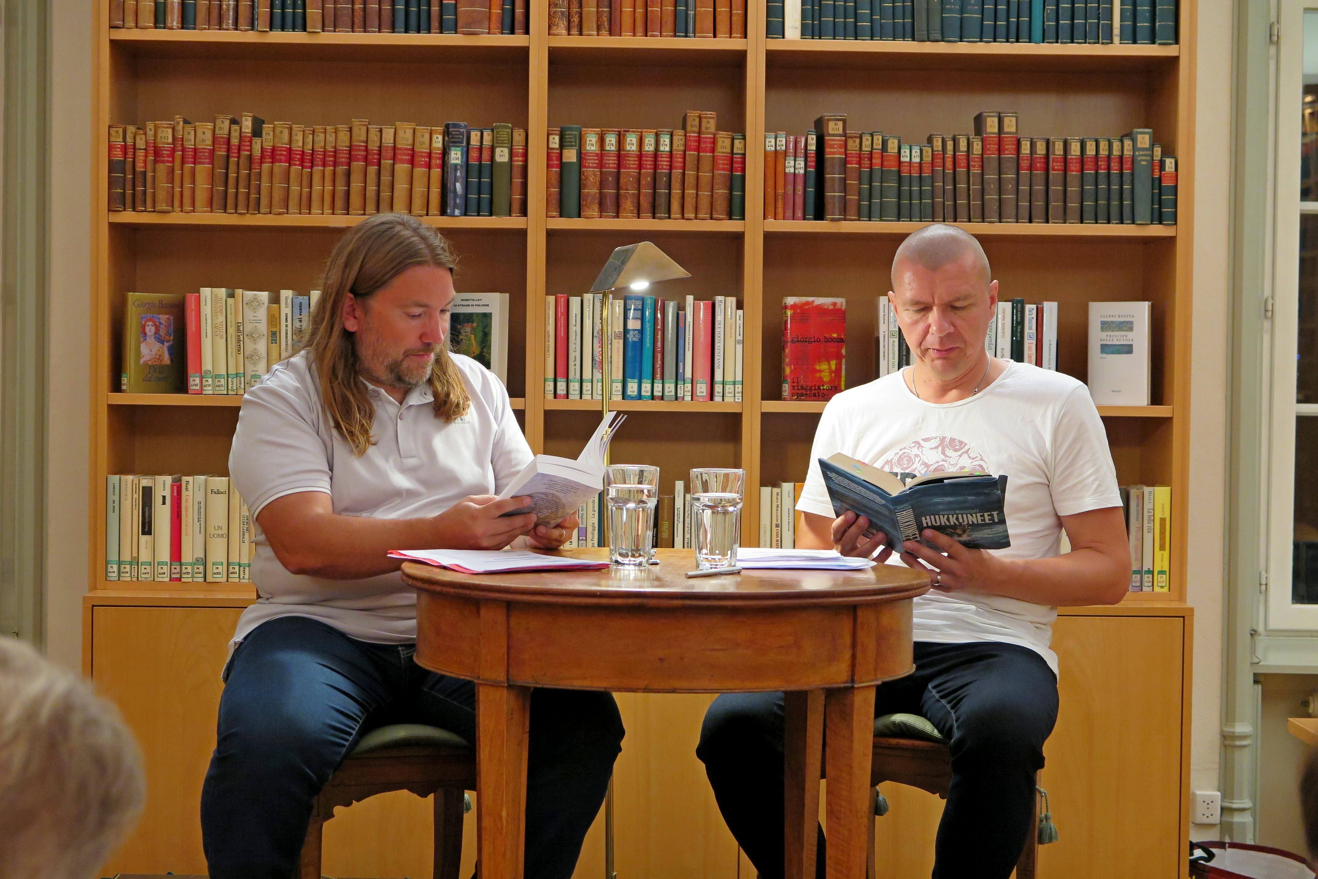 Beat Hüppin (l.) und Jaakko Melentjeff