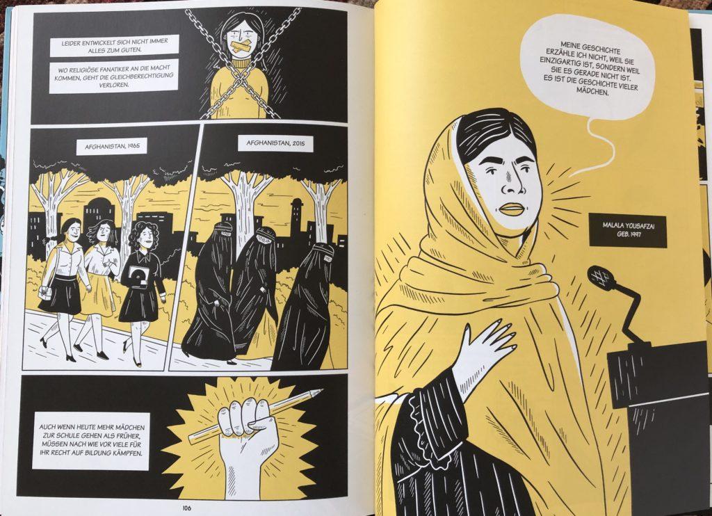 Rebellische Frauen von Marta Breen und Jenny Jordahl  Foto: Besser Nord als nie!
