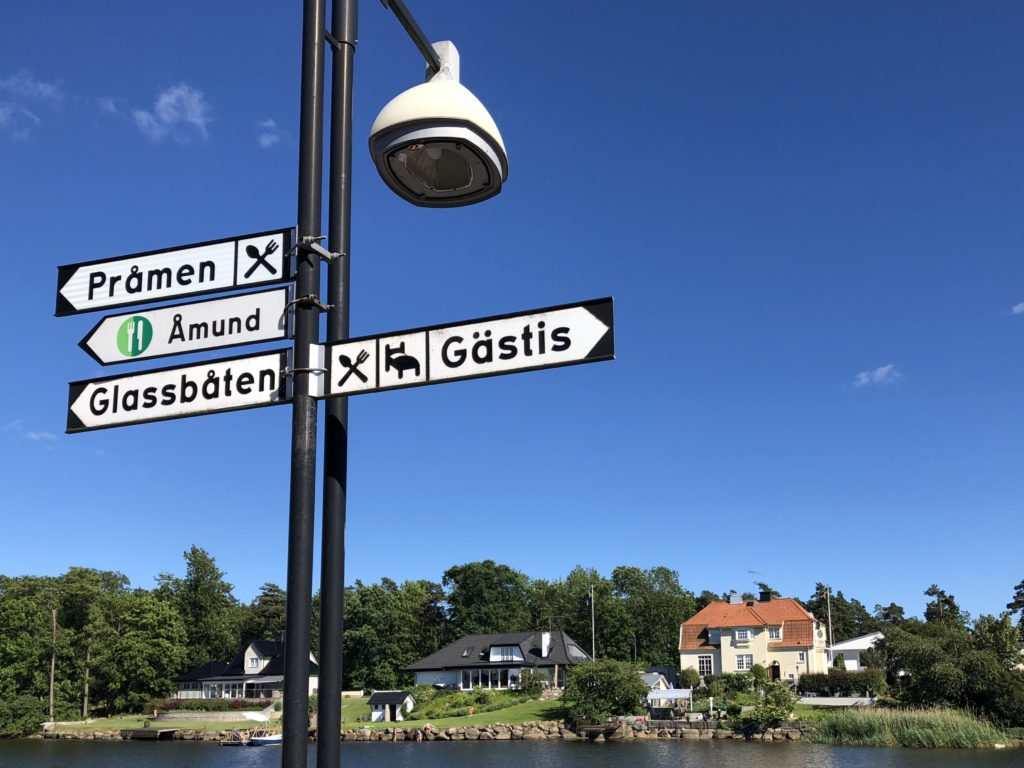 Glassbåten in Åhus